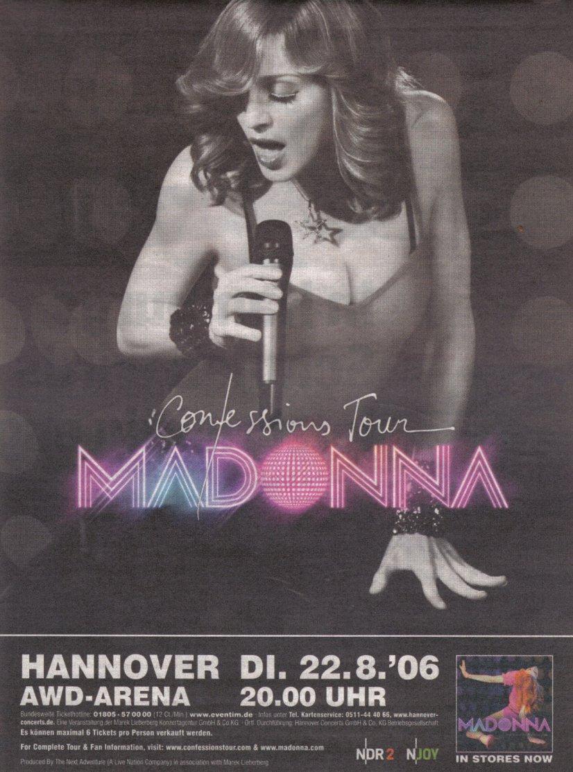 madonna confessions tour poster - photo #11